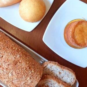 Productos de queso, panes y hojaldres